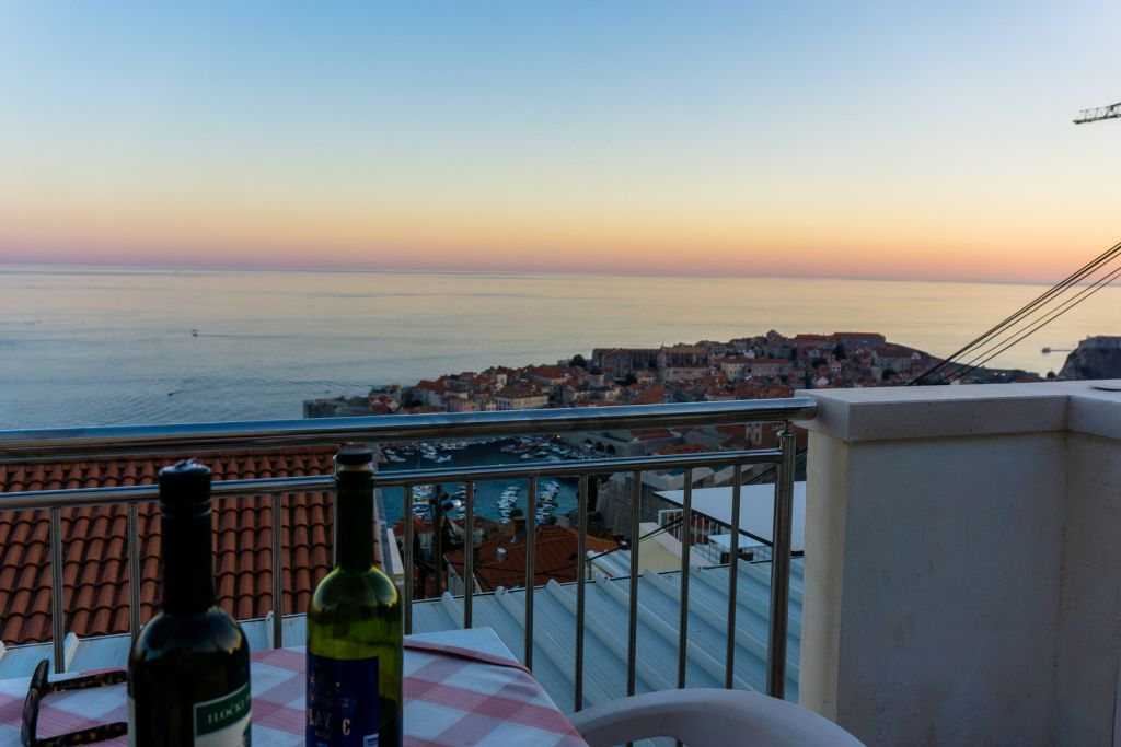 Sunset dubrovnik views