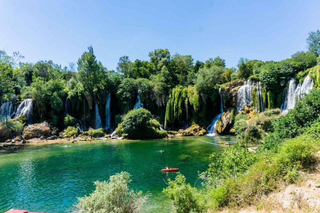 Kravice waterfalls day tour