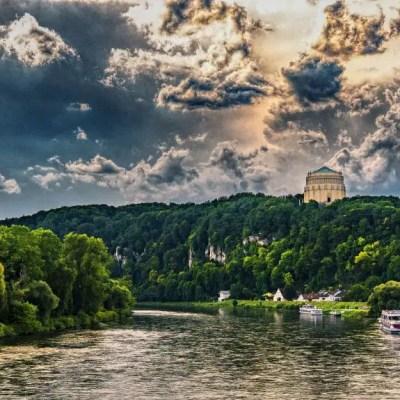 Danube Cycle Path europe