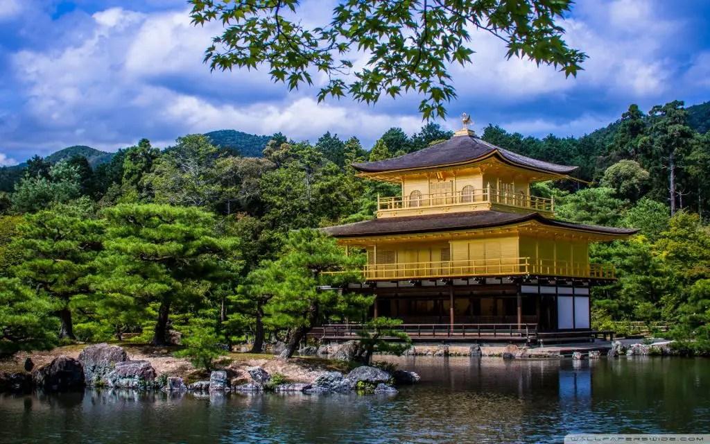 Golden temple kinkaku ji kyoto