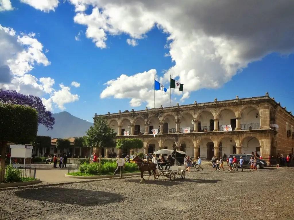 Antigua market square