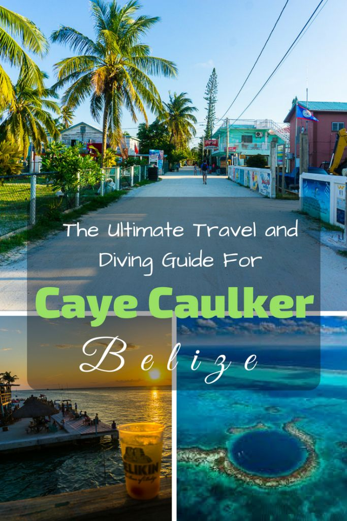 Off the coast of Belize City lies a paradise for divers and backpackers alike in the form of the island of Caye Caulker. Caye Caulker is a much smaller version of its more developed and touristy neighbor Ambergris Key but that is the allure of the place. #scubadiving #belize #diving #cayecaulker #ambergris #sanpedro