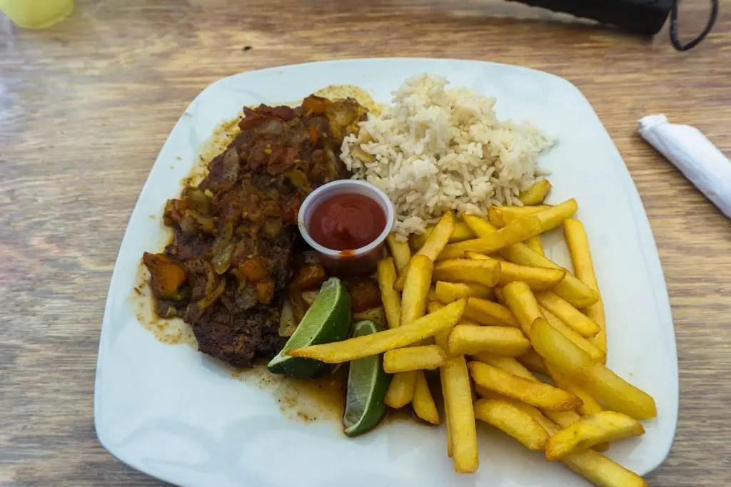 Chef Juan food belize caye caulker