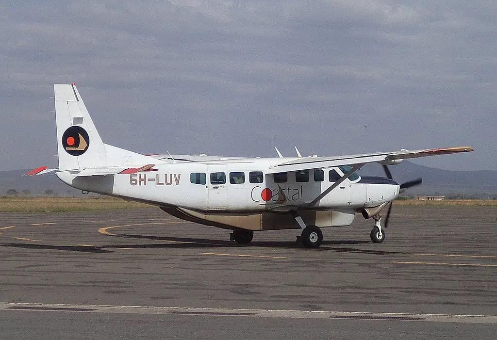 Coastal Aviation airplane