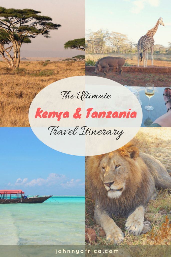 The Ultimate Two Week itinerary for Kenya and Tanzania