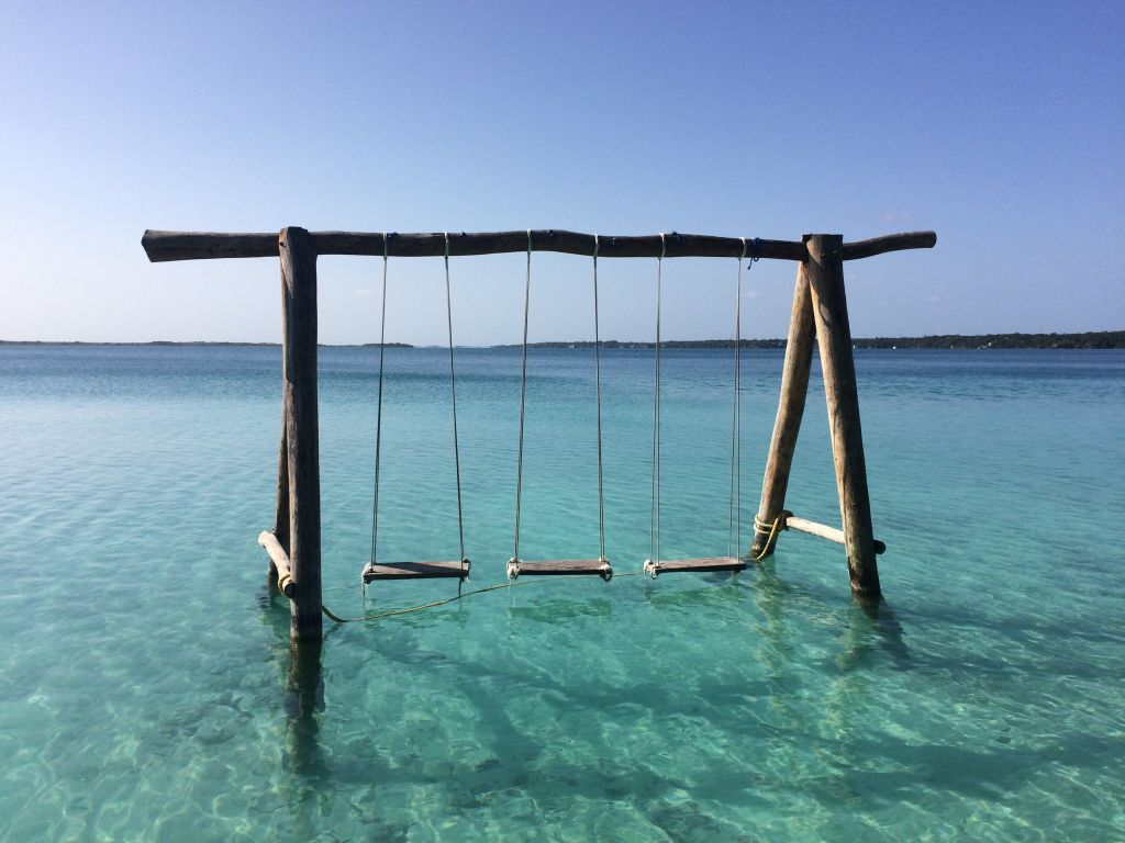 bacalar swings mexico