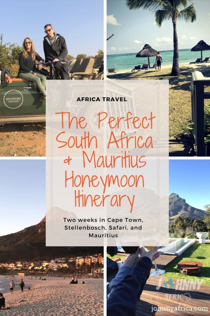 South Africa and Mauritius make the perfect honeymoon trip for those looking to get a taste of Southern Africa. I planned a honeymoon for my friends visiting Cape Town, Stellenbosch, a wonderful safari in the Limpopo province, and Mauritius. This is the day by day recount of this wonderful trip and a guide to planning our your own dream honeymoon to South Africa! #honeymoon #southafrica #mauritius #safari #big5