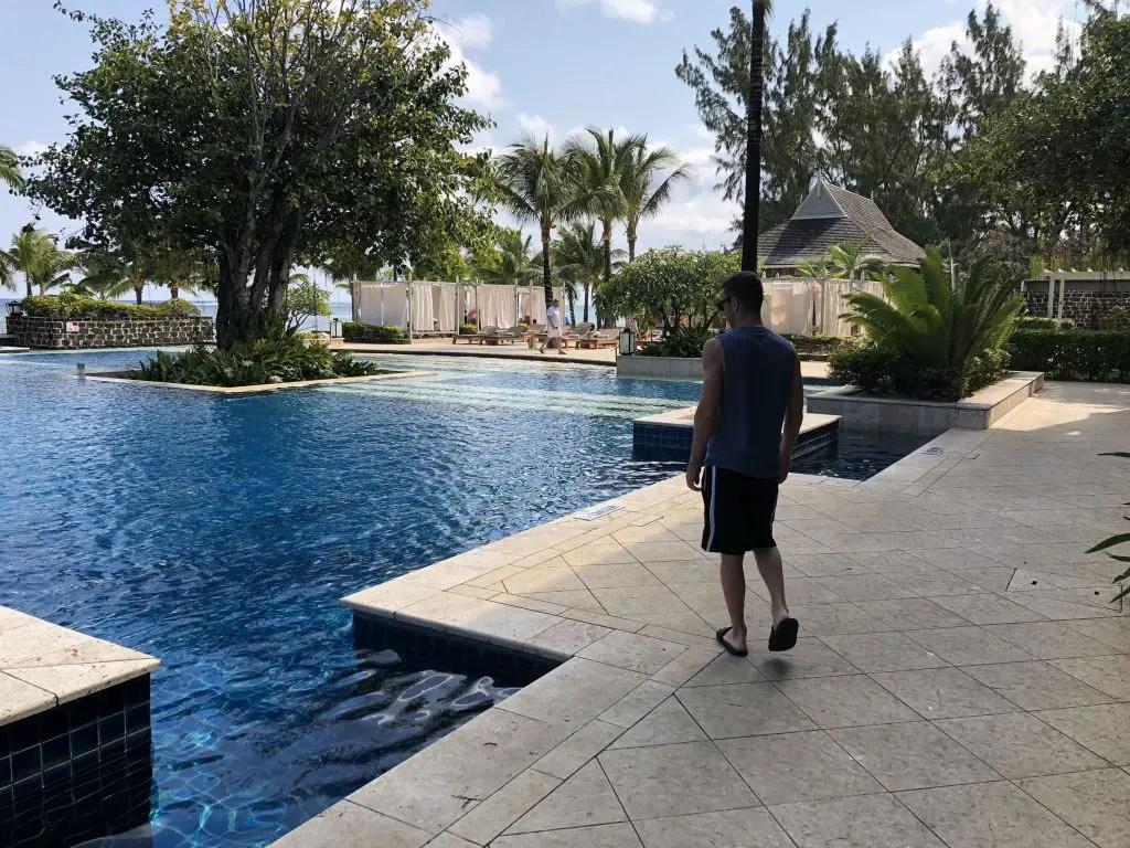 St regis mauritius pool