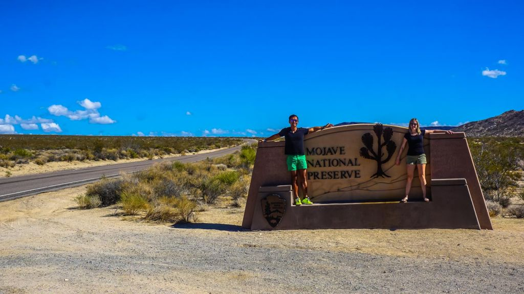 Mojave Natiional preserve entrance