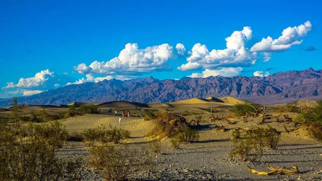 Mesquite Sand Dunes Death Valley entrance