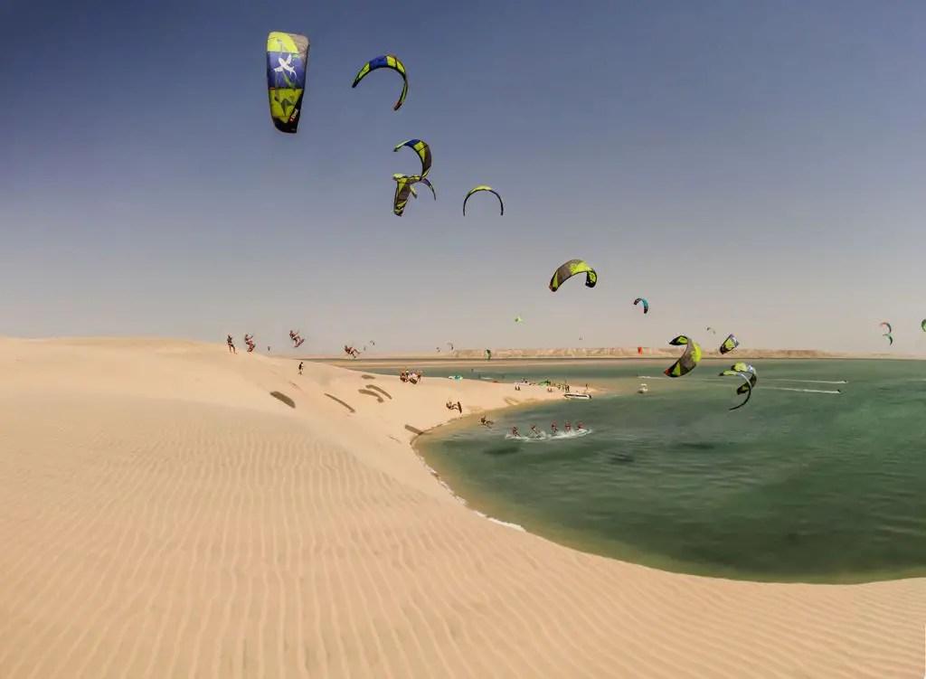 white dune dakhlka morocco