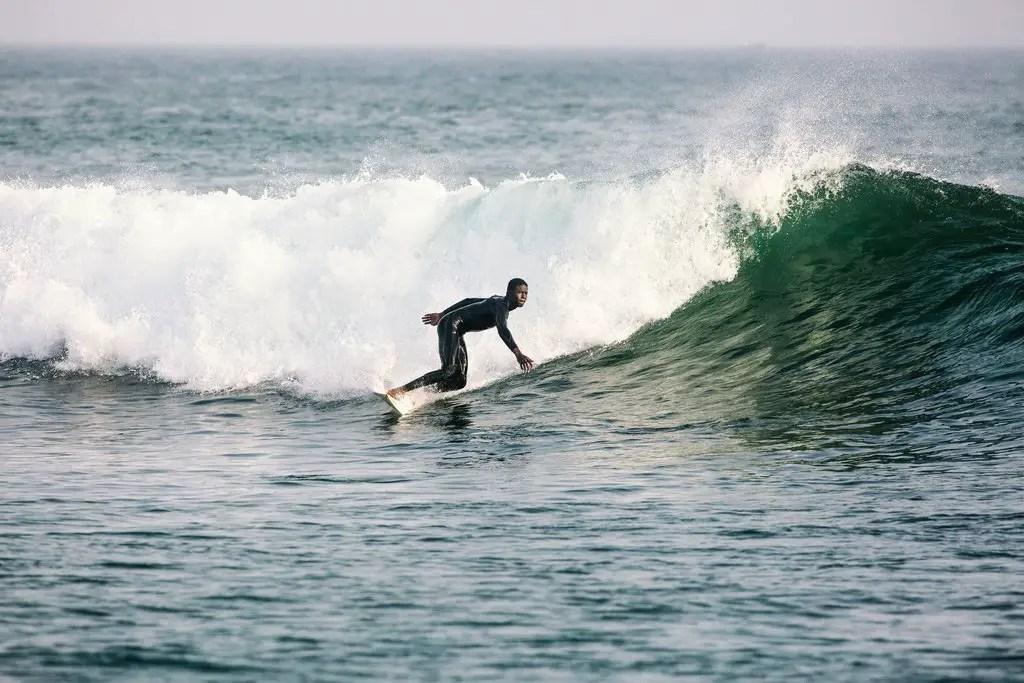 dakar surfing