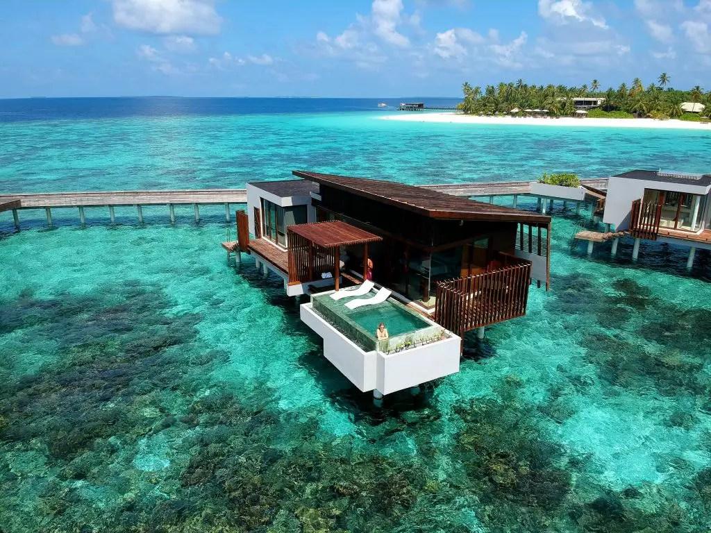 Park Hyatt sunset pool villa hadahaa maldives