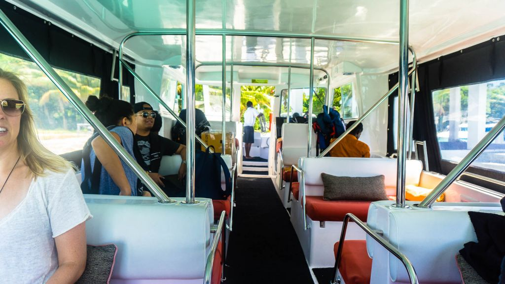 ferry speedboat park hyatt hadahaa maldives