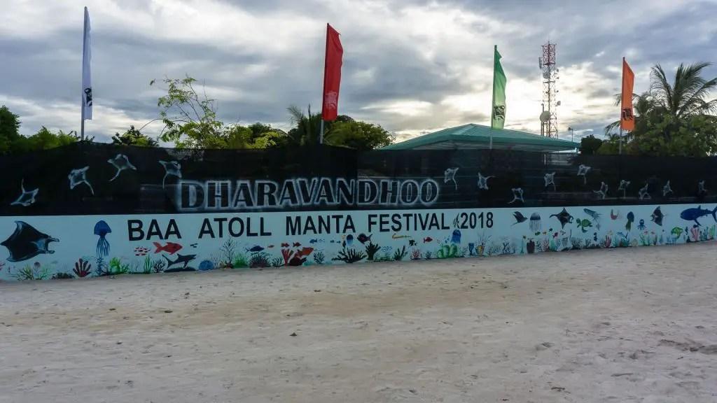Dharavandhoo Island in the Baa Atoll