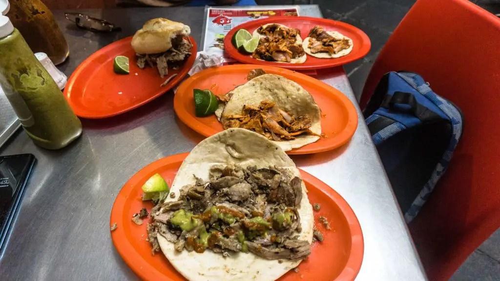 Tacos Arabes at Tacos Bagdad