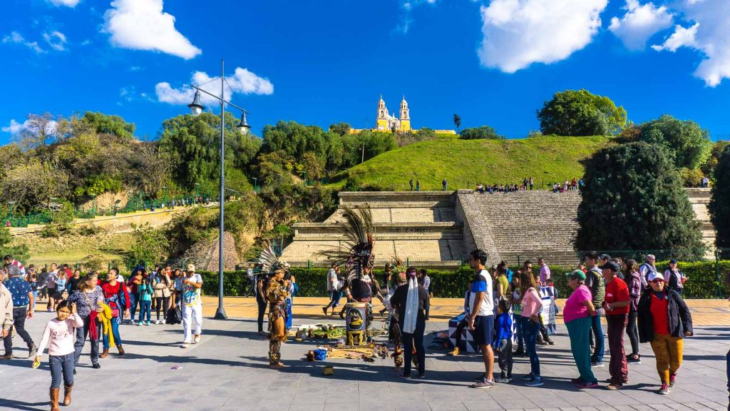 Cholula Great Pyramid