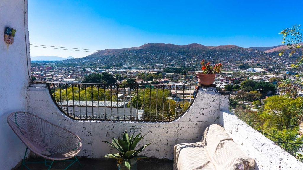 Airbnb oaxaca city views