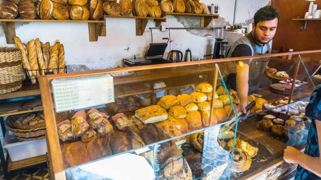 pastry shop boulenc Oaxaca Mexico