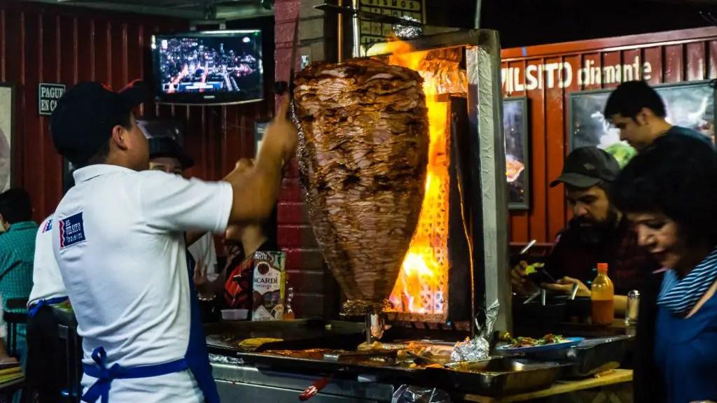 El Vilsito Mexico City Al Pastor Tacos