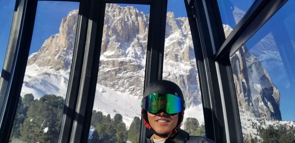 dolomites ski lift