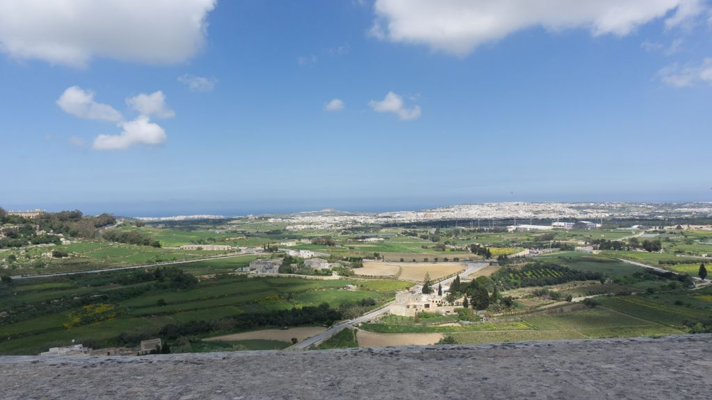 Views of the Maltese countryside