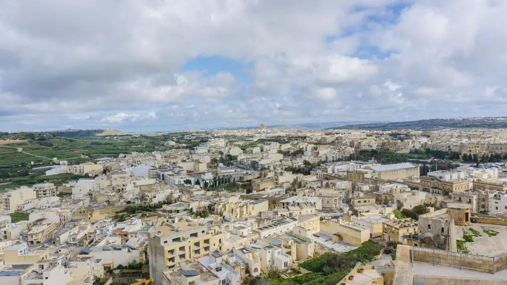 Views from The Citadella of Victoria, Gozo