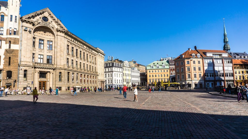 Riga's main square