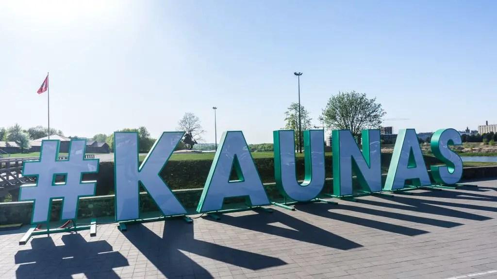 Arriving in Kaunas!