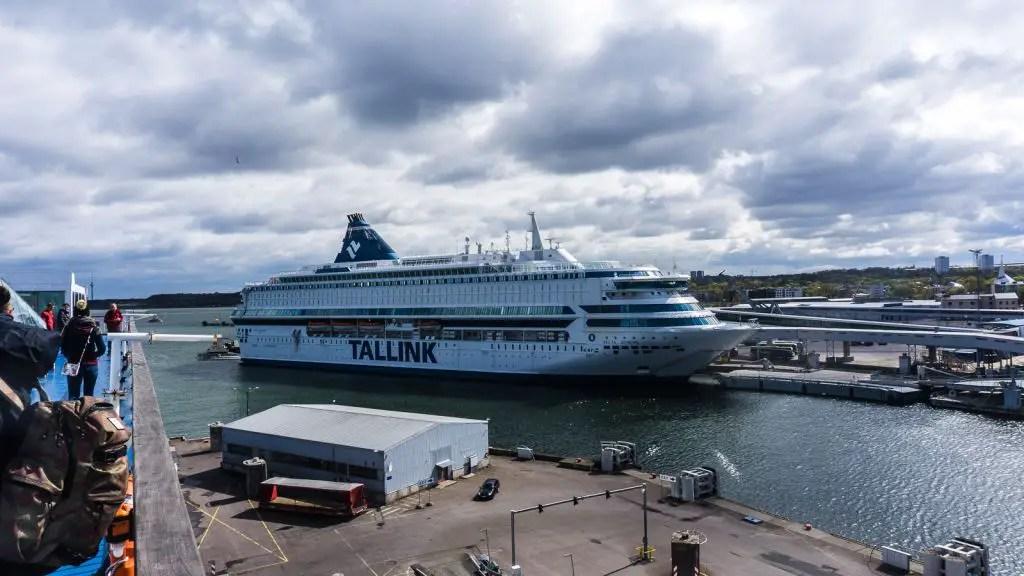 Tallink Ferry Tallinn to Helsinki