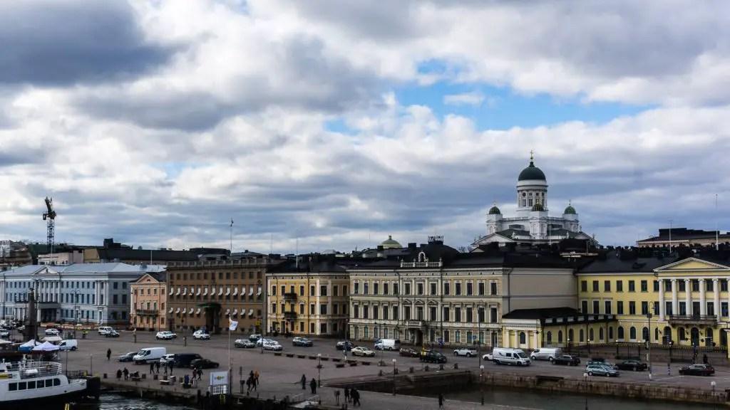 Views of Helsinki Harbor
