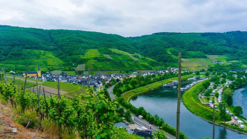 Mosel Region views Germany Rhine