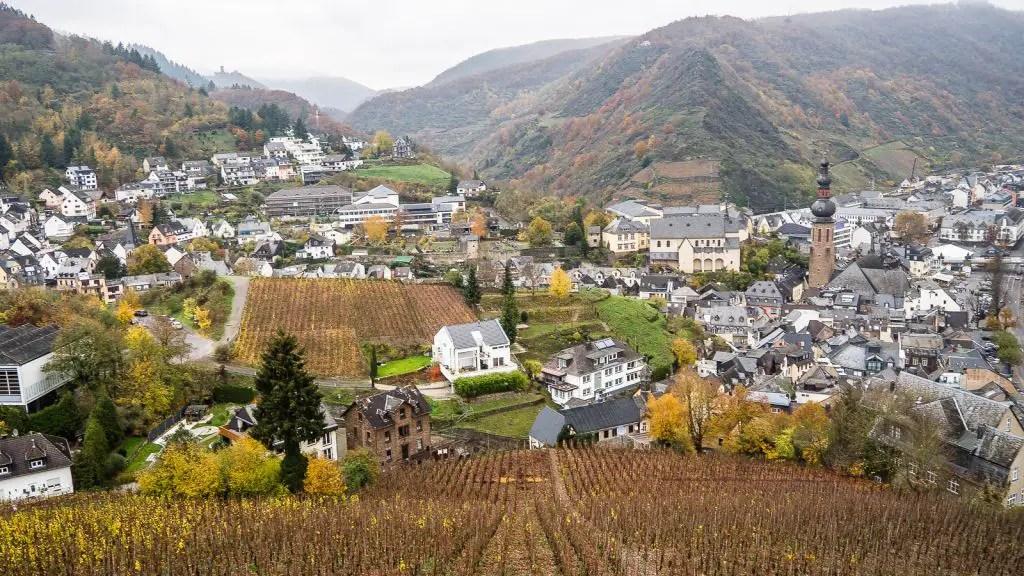 Cochem in the fall Germany rhineland