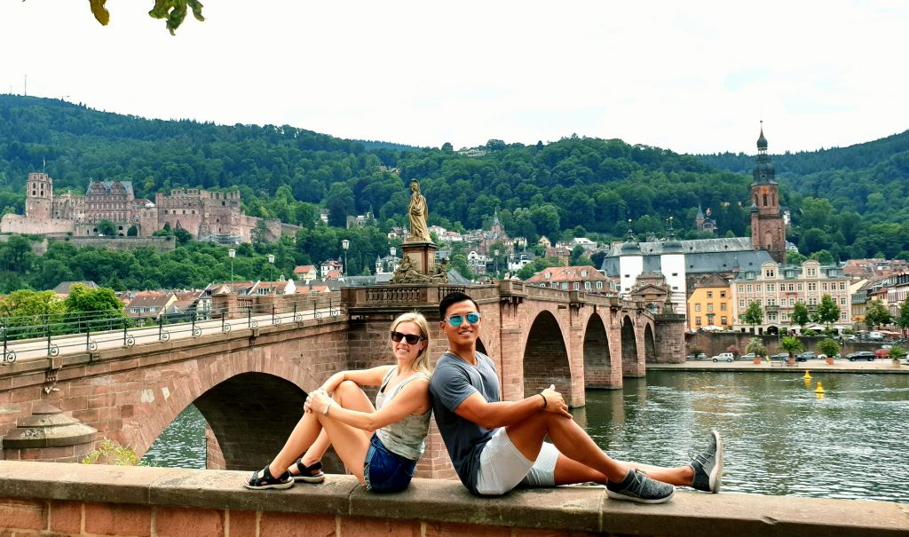 Heidelberg old bridge photos