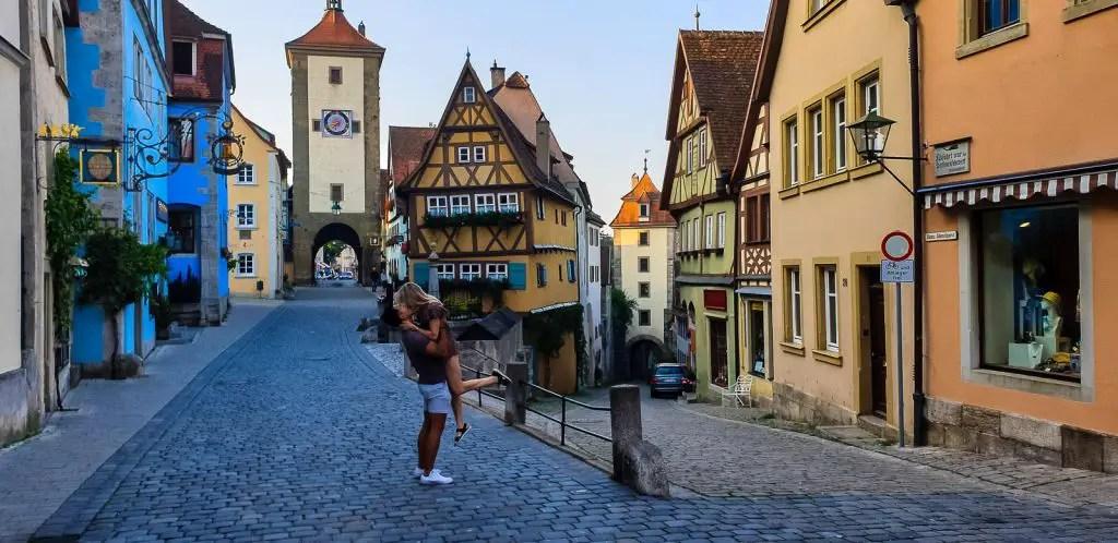 Rothenburg ob der tauber germany romantic