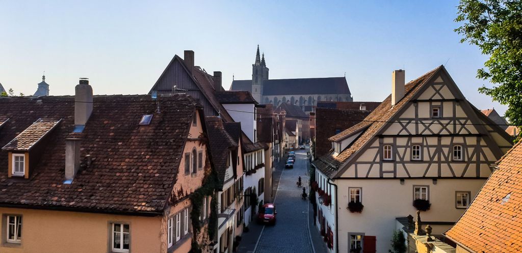 Views from the walls rothenburg