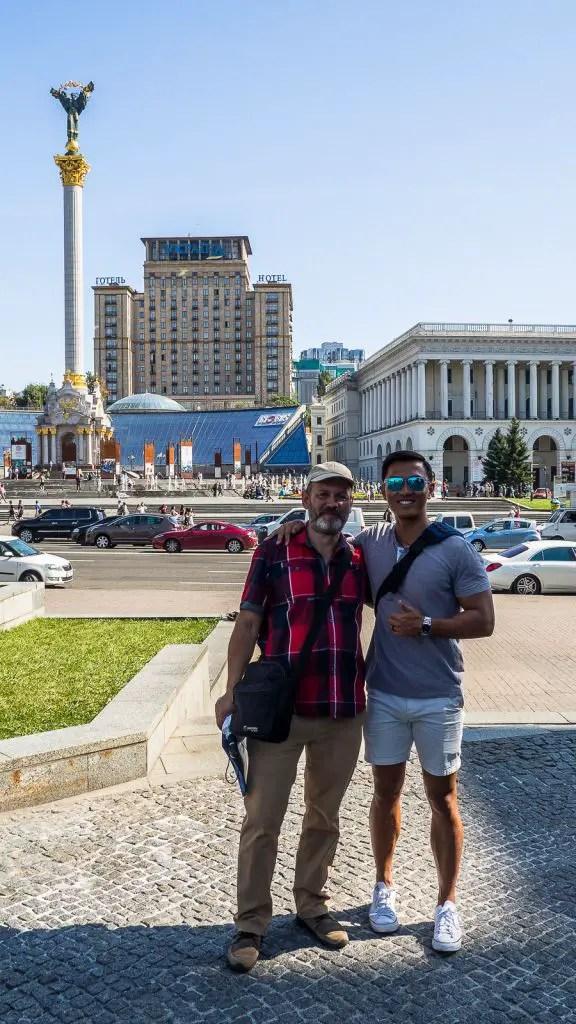 Ukraine walking tour revolution