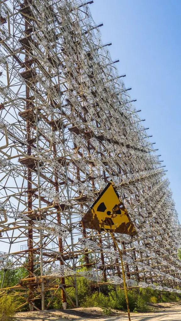 Duga Radio Tower Chernobyl Ukraine