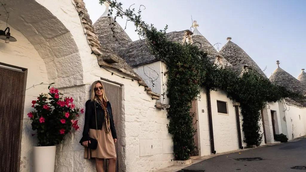 Alberobello trulli in Puglia, Italy