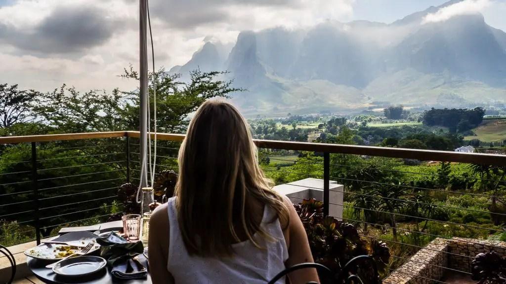 Breakfast with the ultimate view. De zeven