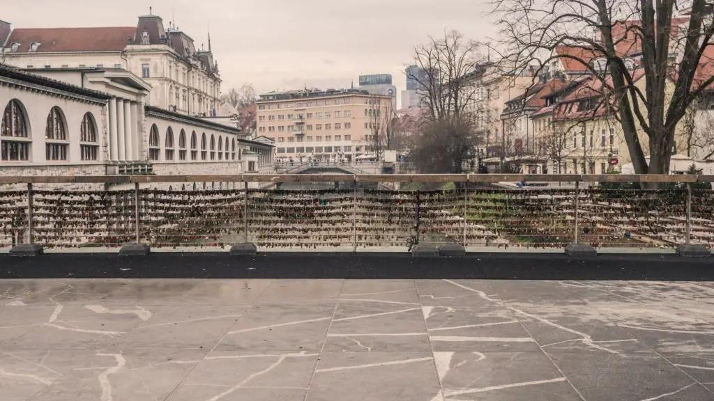 Butcher's bridge Ljubljana