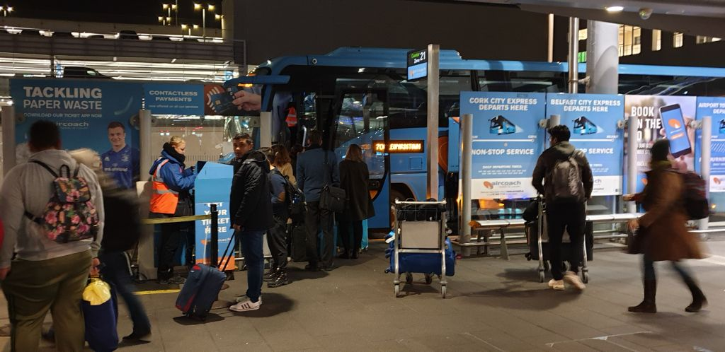 Airlink Dublin airport transportation