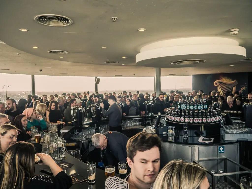 Gravity Bar Guinness storehouse
