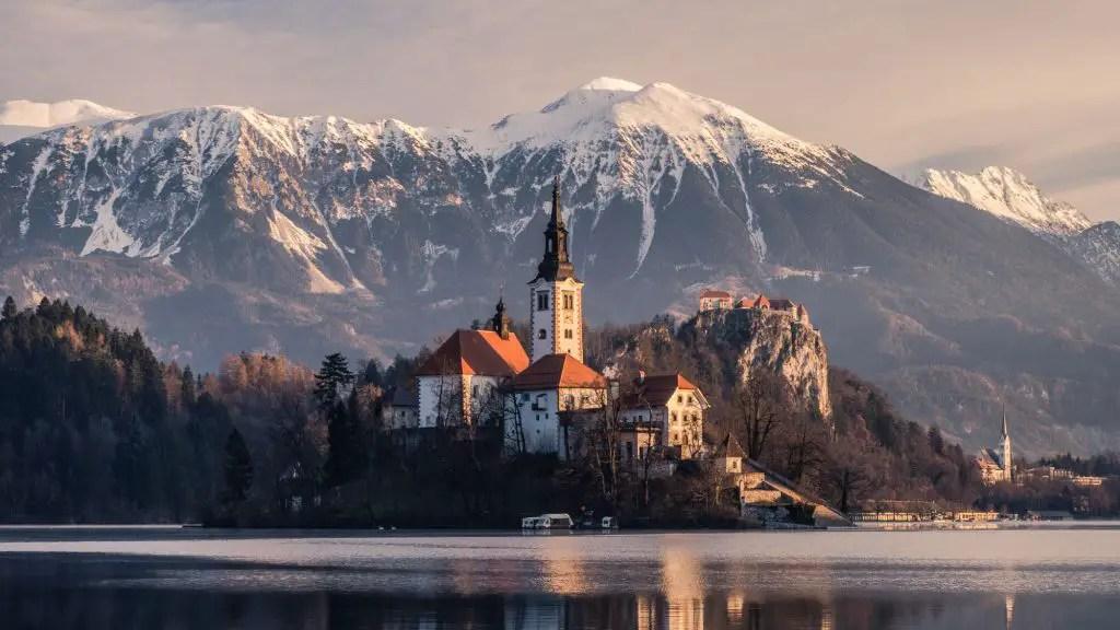 Lake Bled bled castle Slovenia