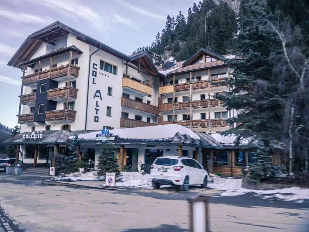 Col Alt hotel in Corvara