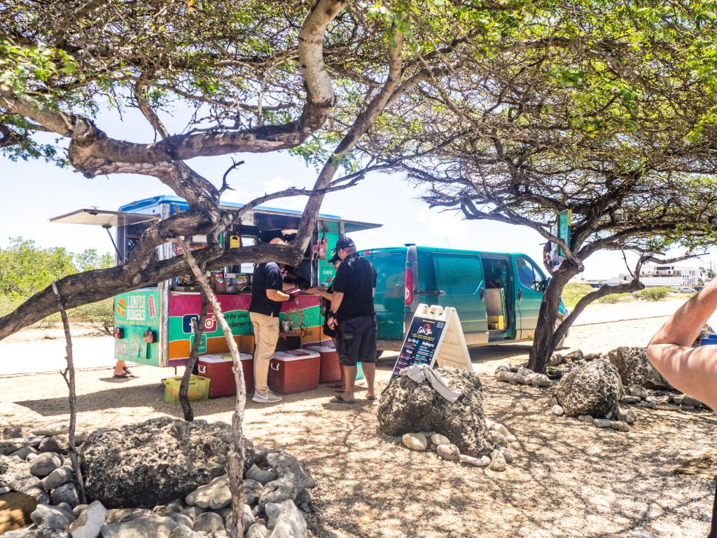 Cactus Blue food truck Bonaire