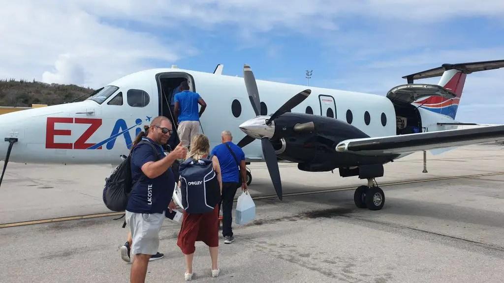 Curacao ez air to bonaire