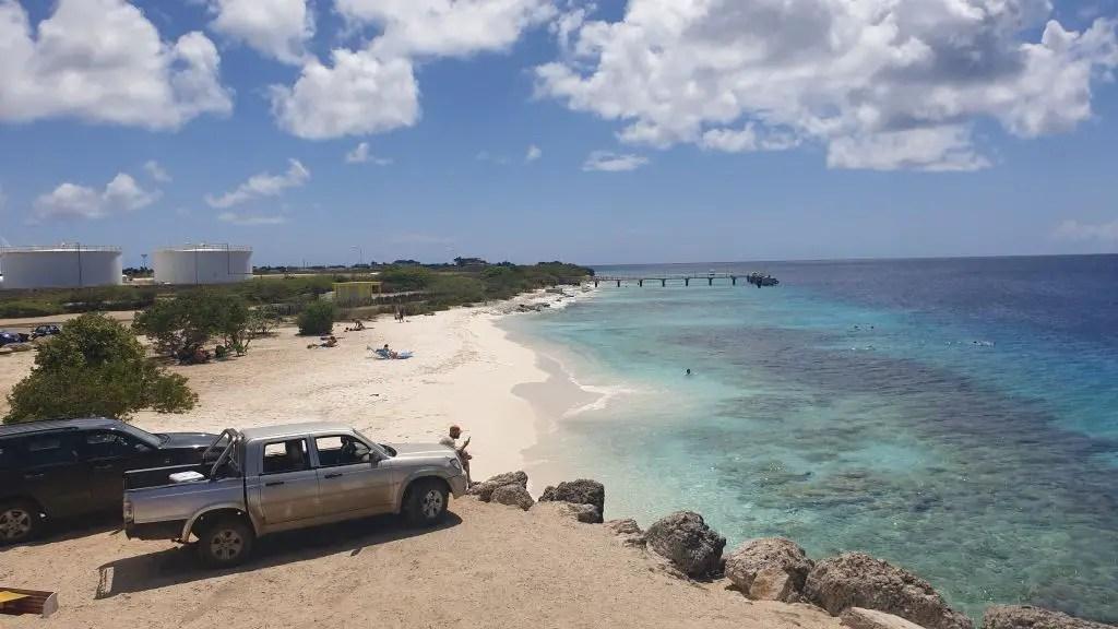 Te Amo beach Bonaire