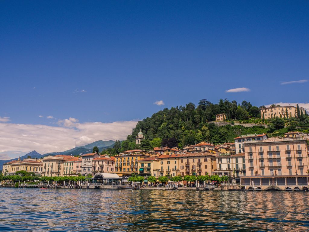Bellagio Town from the water