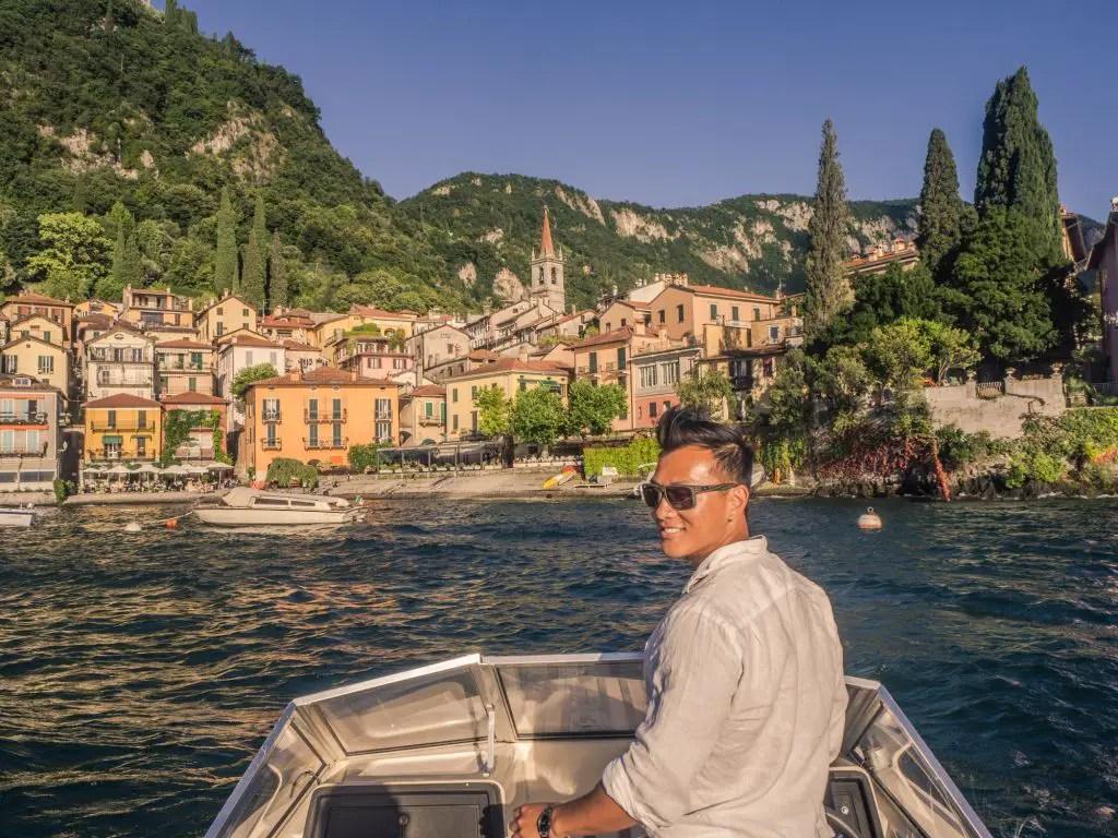 Lake Como Italy boat